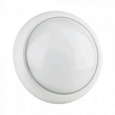 Plafoniera LED 12W Corp Alb Rotund IP54 Alb Neutru