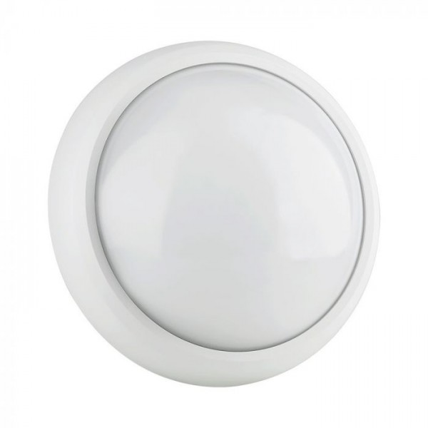 Plafoniera LED 12W Corp Alb Rotund IP54 Alb Neutru