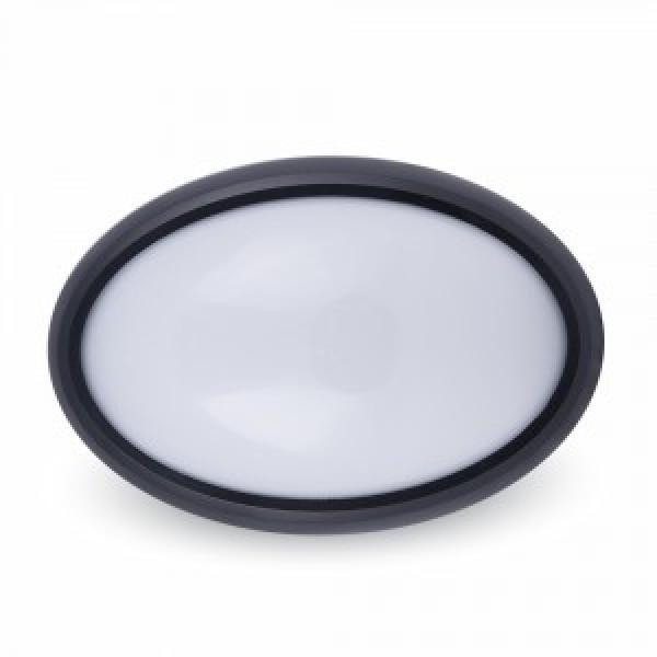 Plafoniera LED 8W Corp Negru O...