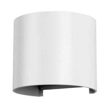 Aplica LED 6W rotunda cip BRIDGELUX Corp Alb Alb Cald