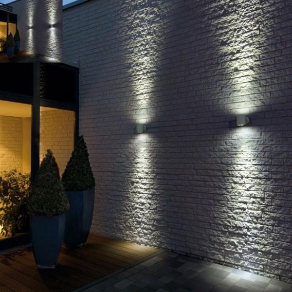 Aplica LED 6W rotunda cip BRIDGELUX Corp Alb Alb Neutru