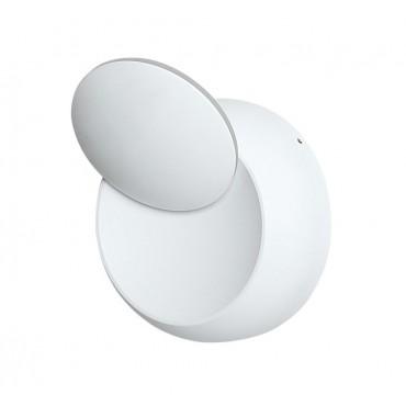 Aplica LED mobila 5W rotunda Corp Alb Alb Neutru