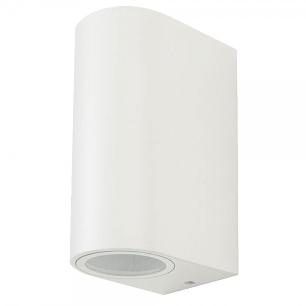 Aplica Rotunda Corp Alb cu iluminare bidirectionala