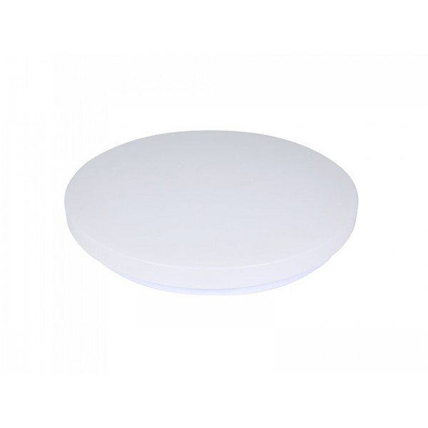 Plafoniera LED rotunda 12W 230mm opala 3 in 1