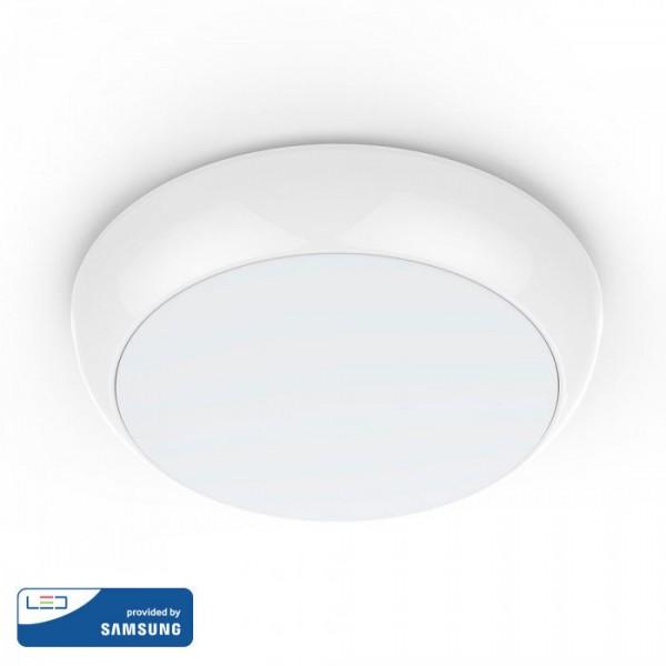 Plafoniera LED 15W CIP SAMSUNG cu senzor microunde Alb Neutru