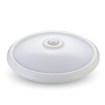 Plafoniera LED 12W cu senzor cip SAMSUNG Alb Cald