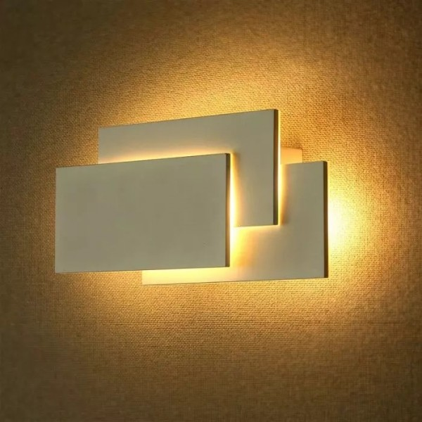 Aplica LED 12W tripla Corp Alb Alb Neutru
