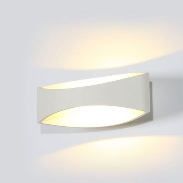 Aplica LED de perete 5W corp alb iluminare indirecta