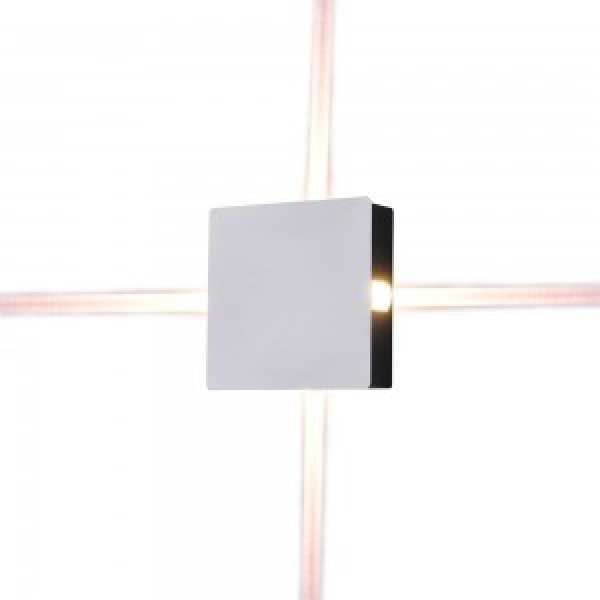 Aplica LED 4W patrata Corp Alb...