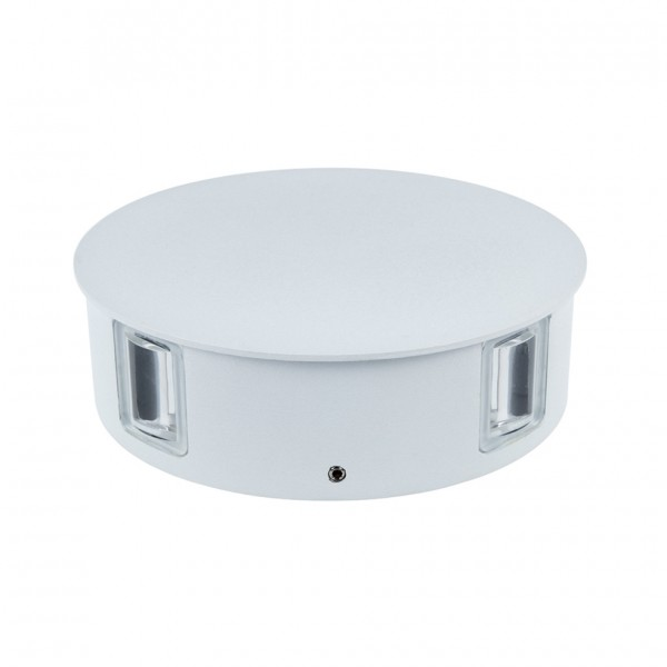 Aplica LED 4W rotunda Corp Alb Alb Neutru