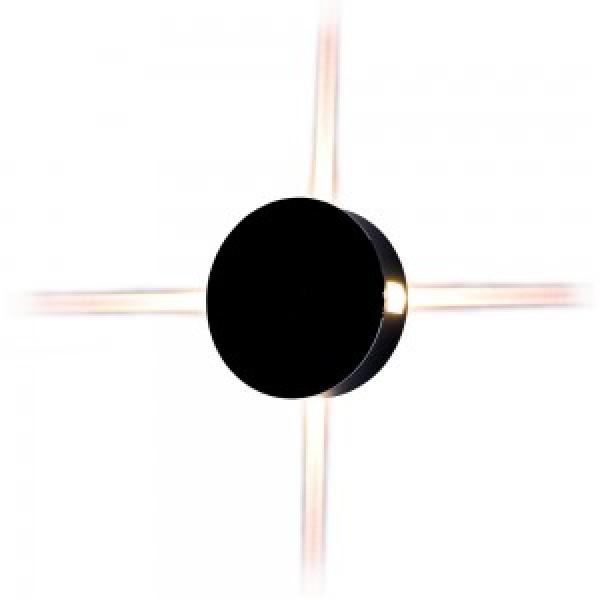 Aplica LED 4W rotunda Corp Negru Alb Neu...