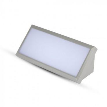 Aplica LED de exterior 12W dreptunghiulara gri