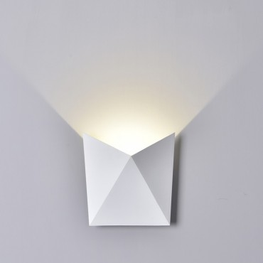 Aplica LED 5W Corp Alb Alb Cald