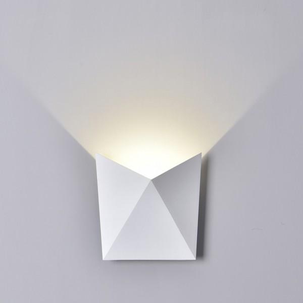 Aplica LED 5W Corp Alb Alb Neu...