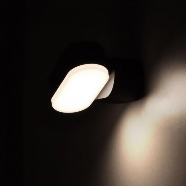 Aplica LED 6W Corp Negru Orientabil Alb Neutru