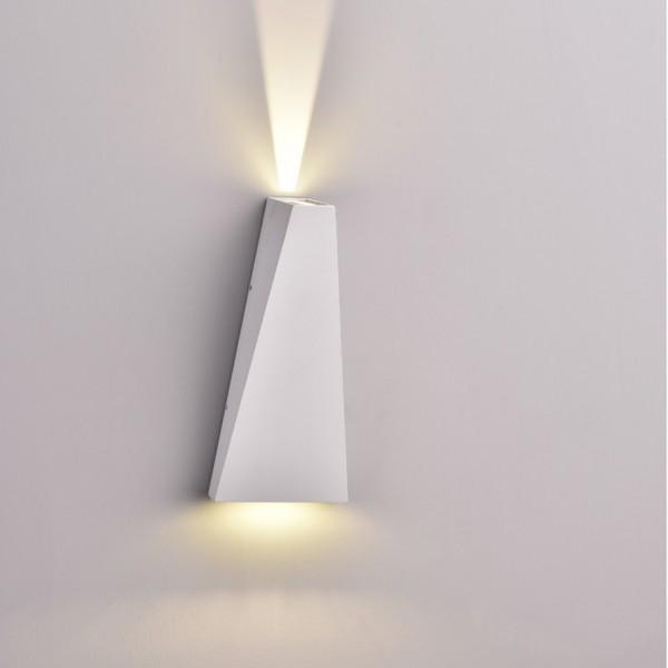 Aplica LED 6W Corp Alb Alb Neu...