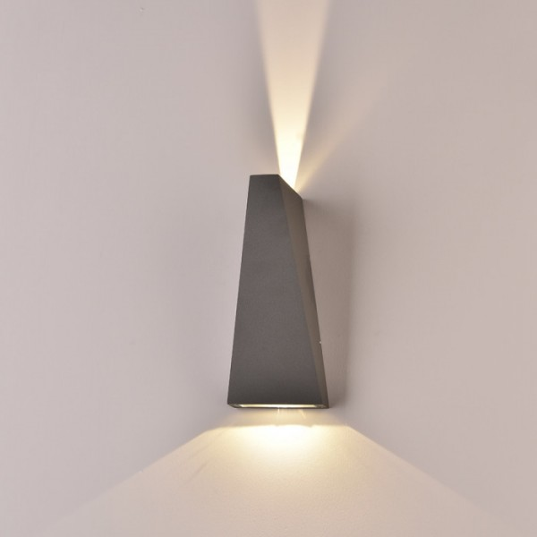Aplica LED 6W Corp Negru Alb N...