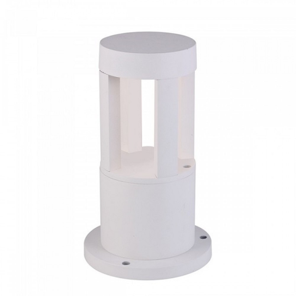 Aplica LED 10W Corp Alb 25cm inaltime Alb Rece