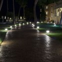 Aplica LED 10W de gradina Corp Alb 25 cm lumina calda