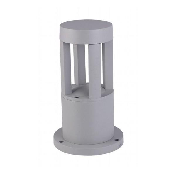 Aplica LED 10W Corp Gri 25cm inaltime Alb Neutru