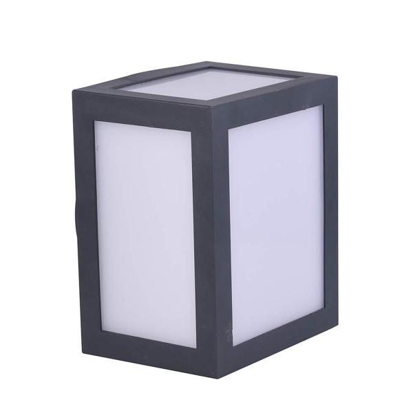 Aplica LED 12W Corp Gri Alb Cald