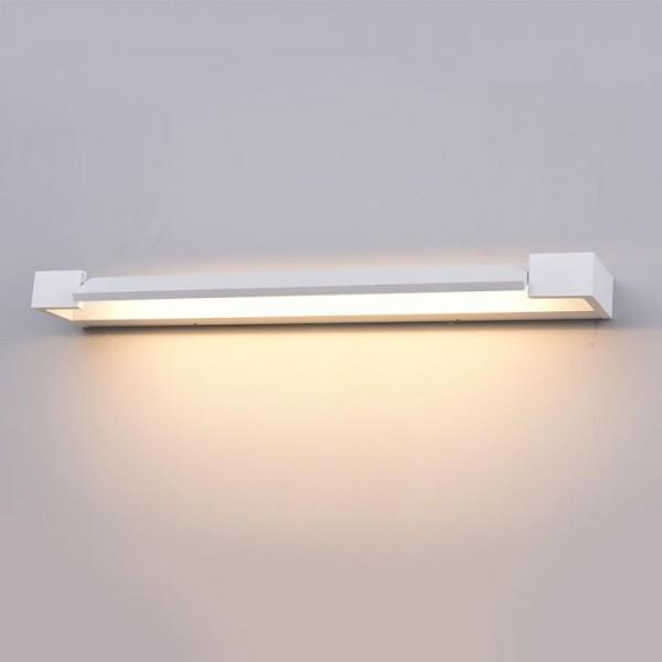 Aplica LED de perete 18W orientabila corp alb
