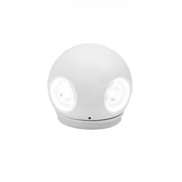 Aplica LED 4W glob Corp Alb Alb Cald