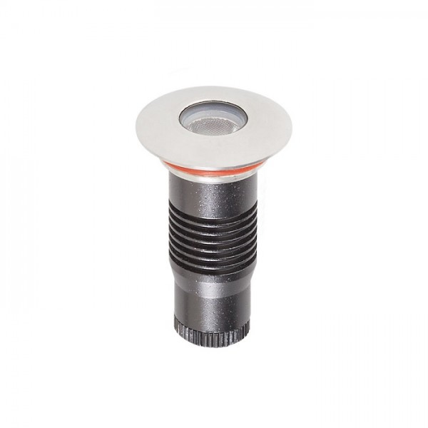 Spot LED etans 1W XGROUND rotund cu montaj ingropat in pardoseala