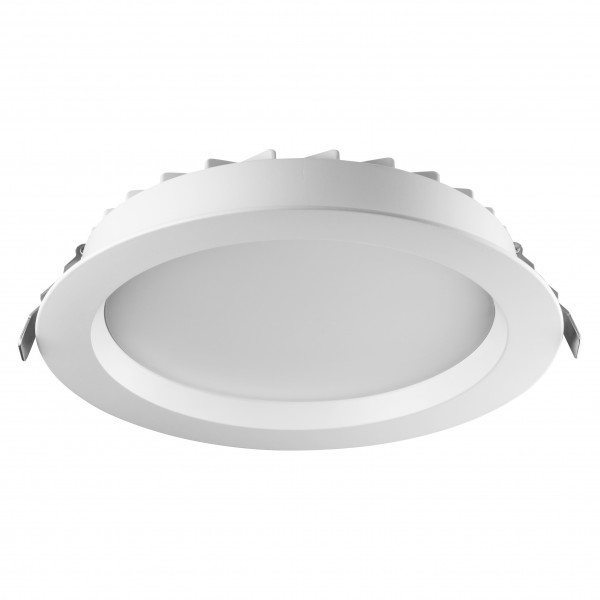 Spot LED 25W Rotund GEWISS ELIA DL Alb Neutru