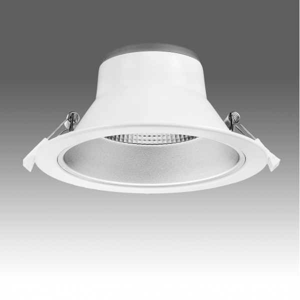 Spot LED 20W Rotund SCHRACK Segon Basic 60 de grade 3 in 1 Alb Cald,Neutru,Rece UGR<19