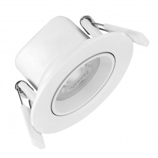 Spot LED 6.5W Rotund SCHRACK Piko Alb 40 de grade Alb Cald