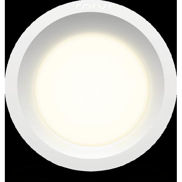 Spot LED Corvi 6W Flat 4 rotund Dimabil ...