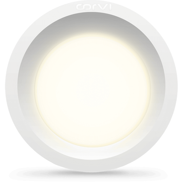 Spot LED Corvi 6W Flat 4 rotun...