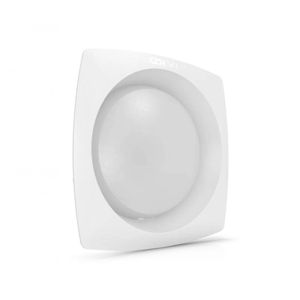 Spot LED Corvi 6W Flat 4Q rotund rama patrata Dimabil Alb Neutru