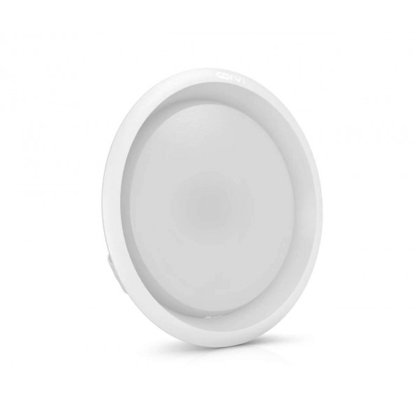 Spot LED Corvi 15W Flat 6 rotund Dimabil Alb Neutru