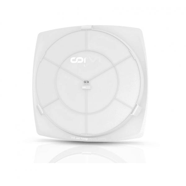 Spot LED Corvi 20W Flat 8Q rotund rama patrata Dimabil Alb Neutru
