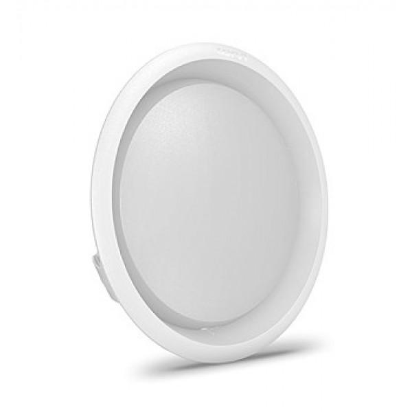 Spot LED Corvi Flat 6 9W Dimabil - Alb R...