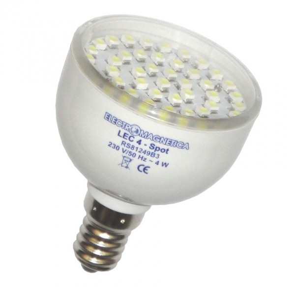 Spot LED Lec 4W E14 - lumina calda
