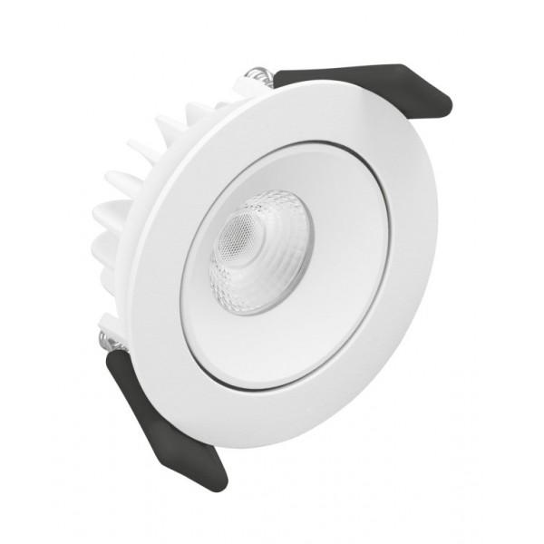 Spot LED orientabil rotund 6.5...