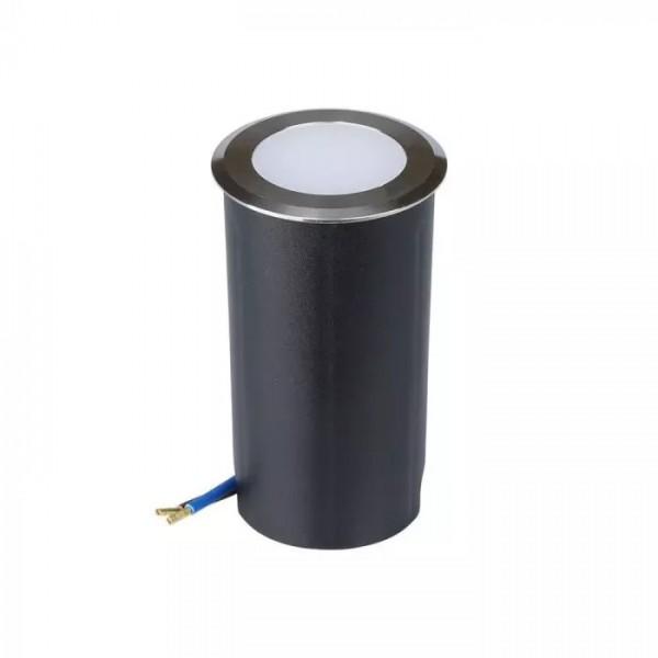 Spot LED etans 1W cu montaj ingropat in pardoseala alb rece