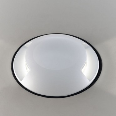 Spot LED etans 1W alb bidirectional cu montaj ingropat in pardoseala alb cald 12V