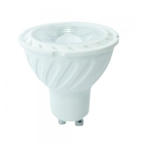 Bec spot LED cip SAMSUNG 6.5W GU10 - Lumina Calda