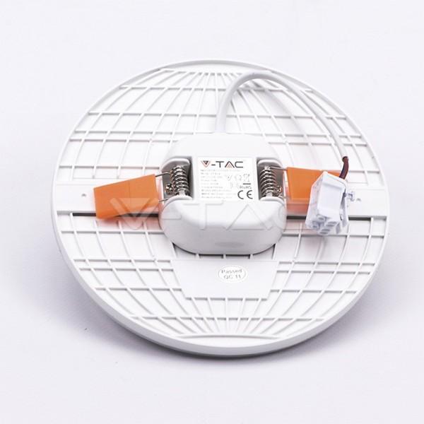 Spot LED 24W montaj ajustabil Cip SAMSUNG Rotund Alb Rece