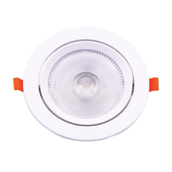 Spot LED 10W orientabil cu CIP SAMSUNG Rotund Alb Cald