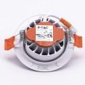 Spot LED 10W orientabil cu CIP SAMSUNG Rotund Alb Rece