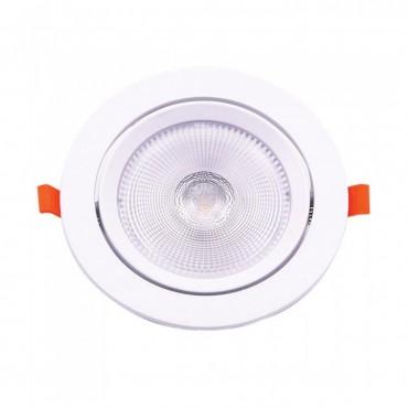 Spot LED 20W orientabil cu CIP SAMSUNG Rotund Alb Cald