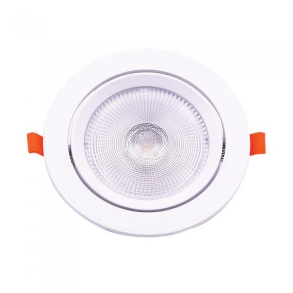 Spot LED 20W orientabil cu CIP SAMSUNG Rotund Alb Rece