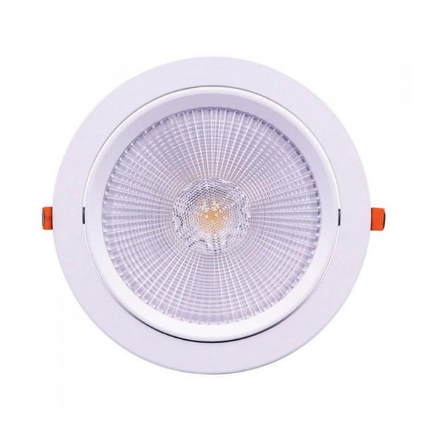 Spot LED 30W orientabil cu CIP SAMSUNG Rotund Alb Neutru
