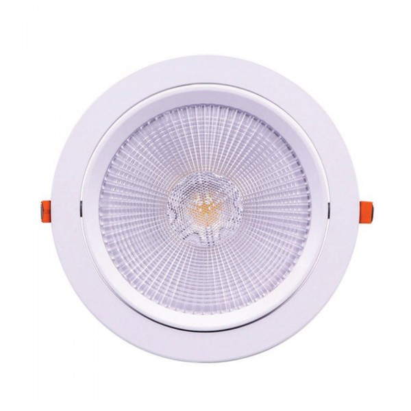 Spot LED 30W orientabil cu CIP SAMSUNG Rotund Alb Rece