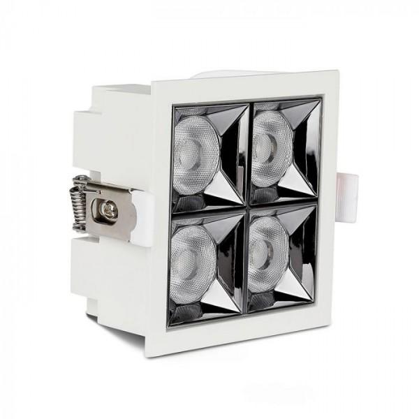 Spot LED 16W cu reflector antiorbire Cip SAMSUNG Alb Neutru